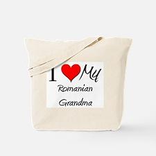 I Heart My Romanian Grandma Tote Bag