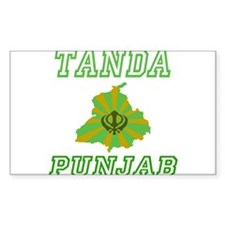 Tanda Rectangle Decal