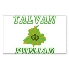 Talvan Rectangle Decal