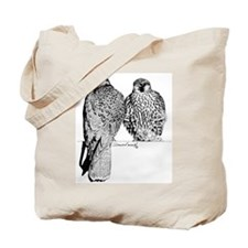Prairie Falcons Tote Bag