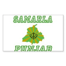 Samarla Rectangle Decal