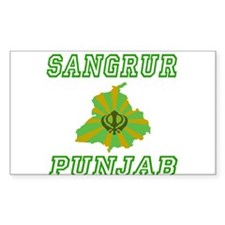 Sangrur Rectangle Decal