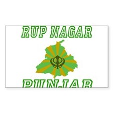 Rup Nagar Rectangle Decal