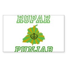 Ropar, Punjab Rectangle Decal