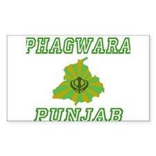 Phagwara, Punjab Rectangle Decal