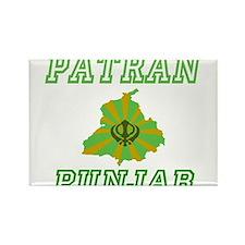 patran, Punjab Rectangle Magnet