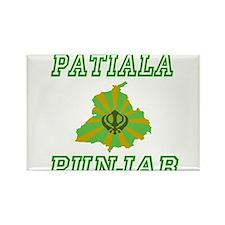 Patiala, Punjab Rectangle Magnet