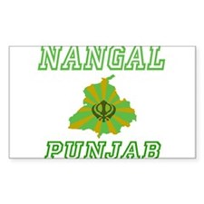 Nangal, Punjab Rectangle Decal