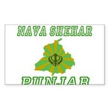 Nava Shehar, Punjab Rectangle Decal