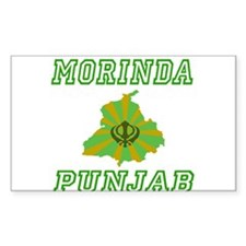 Morinda, Punjab Rectangle Decal
