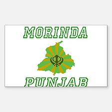 Morinda, Punjab Rectangle Decal