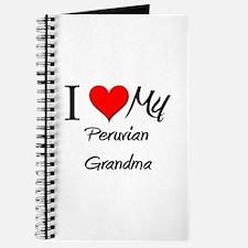 I Heart My Peruvian Grandma Journal