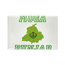 Moga, Punjab Rectangle Magnet