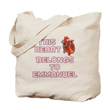 This Heart: Emmanuel (C) Tote Bag