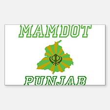 Mamdot, Punjab Rectangle Decal