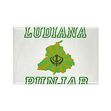 Ludiana, Punjab Rectangle Magnet