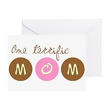 One Terrific Mom Greeting Card