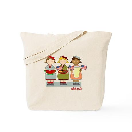 Patriotic Summer Tote Bag