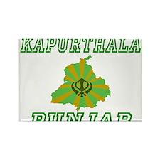 Kapurthala,Punjab Rectangle Magnet