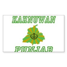 Kahnuwan,Punjab Rectangle Decal