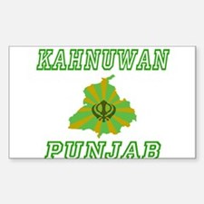 Kahnuwan,Punjab Rectangle Decal