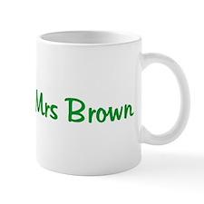 Soon to be Mrs Brown Coffee Mug