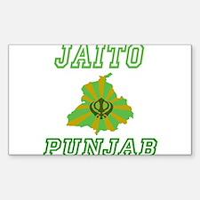Jaito, Punjab Rectangle Decal