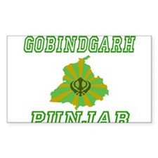 Gobindgarh, Punjab Rectangle Decal
