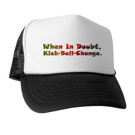 Kick Ball Change Dance Trucker Hat