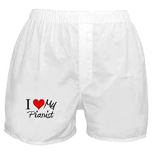 I Heart My Pianist Boxer Shorts