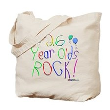 26 Year Olds Rock ! Tote Bag