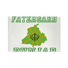 FatehGarh, Punjab Rectangle Magnet