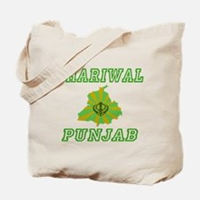 Dhariwal, Punjab Tote Bag
