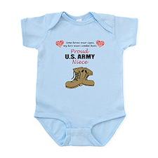 Proud US Army Niece Onesie