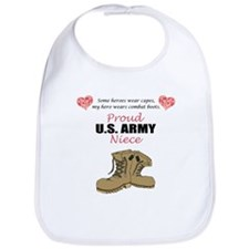 Proud US Army Niece Bib