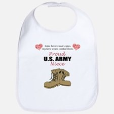 Proud US Army Niece Bib