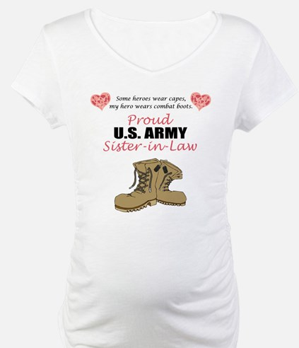 Proud US Army Sister-in-Law Shirt