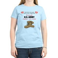Proud US Army Sister-in-Law T-Shirt