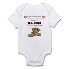 Proud US Army Sister-in-Law Infant Bodysuit