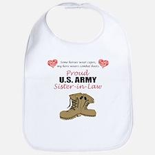 Proud US Army Sister-in-Law Bib