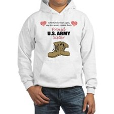 Proud US Army Sister Jumper Hoody