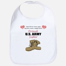 Proud US Army Sister Bib
