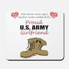 Proud US Army Girlfriend Mousepad