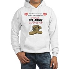 Proud US Army Girlfriend Hoodie