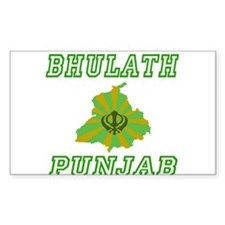 Bhulath, Punjab Rectangle Decal