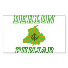 Dehlon, Punjab Rectangle Decal