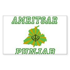Amritsar, Punjab Rectangle Decal