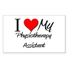 I Heart My Physiotherapy Assistant Decal