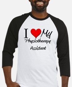 I Heart My Physiotherapy Assistant Baseball Jersey