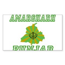 Amargharh, Punjab Rectangle Decal